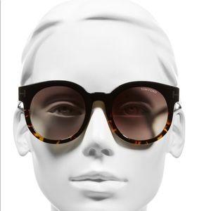 Never worn! Tom Ford women's Janina 51 mm